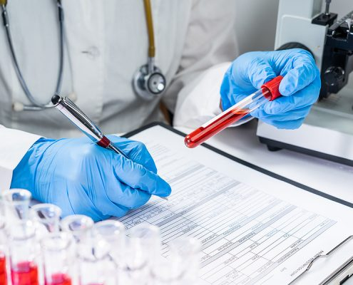 healthcare and medical laboratories