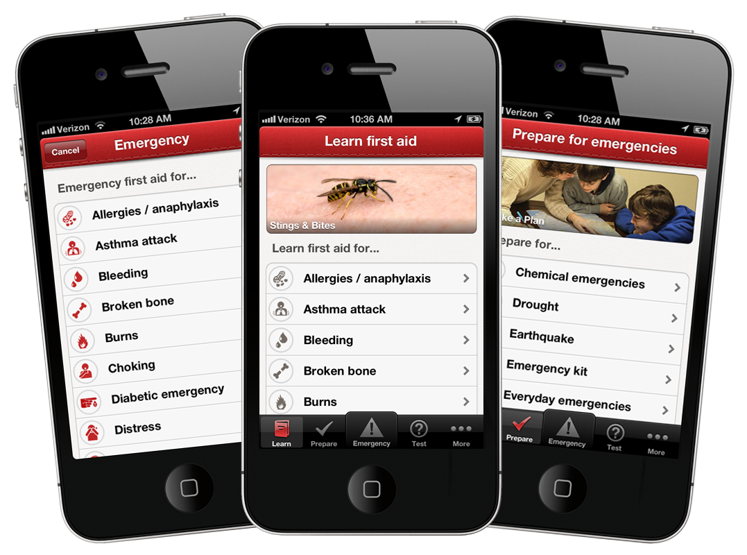 first aid safety app